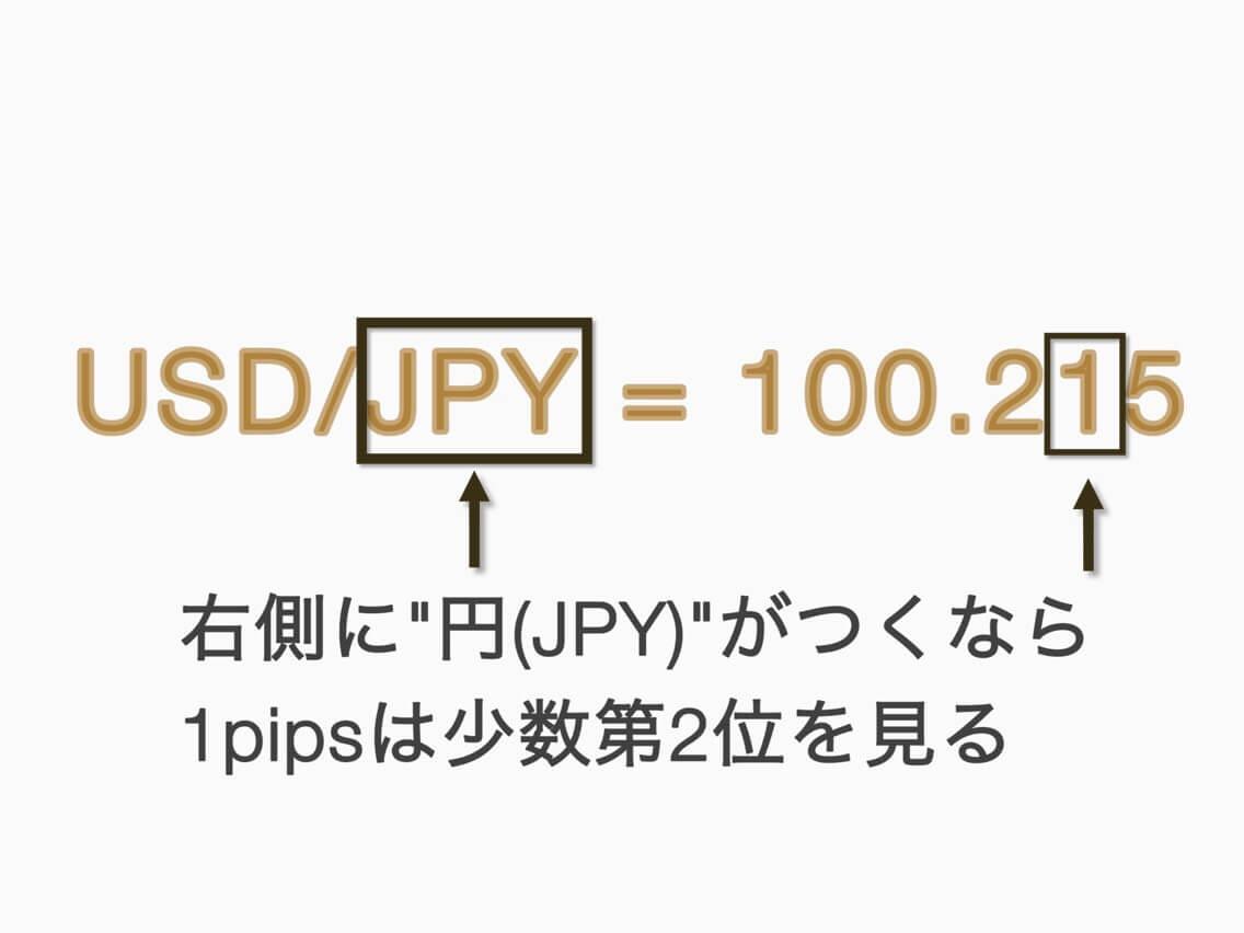 pipsの意味とぱっと見ですぐに何pipsか把握する唯一の方法